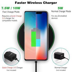 Image 5 - NTONPOWER kablosuz şarj cihazı QI Akıllı Hızlı Şarj Hızlı Şarj 7.5W Mi MIX 2S için iPhone X XR XS 8 artı 10W Samsung S9
