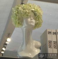 Белый Абстрактный декоративные Книги по искусству ваза голова человека модель ваза клуб мебели украшения дома статуя