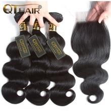 QT Hair Body Wave Bundles with