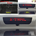 Hot carbon fiber Positioned Rear Brake Light sticker case For Nissan X-Trail XTrail x trail rogue 2014 2015 2016 car accessories