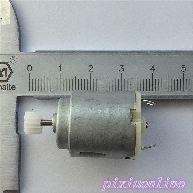 J033Y-tout 12 Micro moteur DC | En paquet, avec engrenage, bricolage, enseignement et technologie, haute qualité en vente