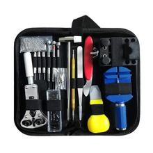 147pcs Watch Repair tool Kit Watch Link Pin Remover Case Opener Spring Bar Remover Horlogemaker Gereedschap Repair Tool Kit new недорого