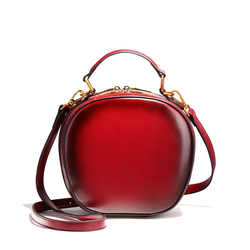 Número máximo de colores de calidad bolsos de cuero genuino para las mujeres del
