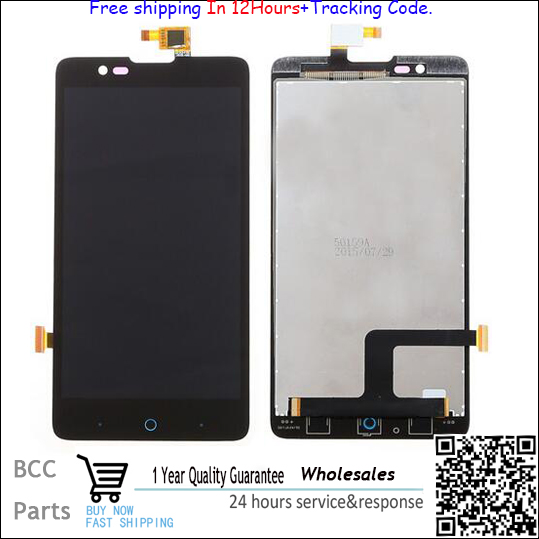 A+++ Quality For ZTE V5 U9180 Black LCD display+ Touch screen Digitizer in stock. freeshipping with tracking