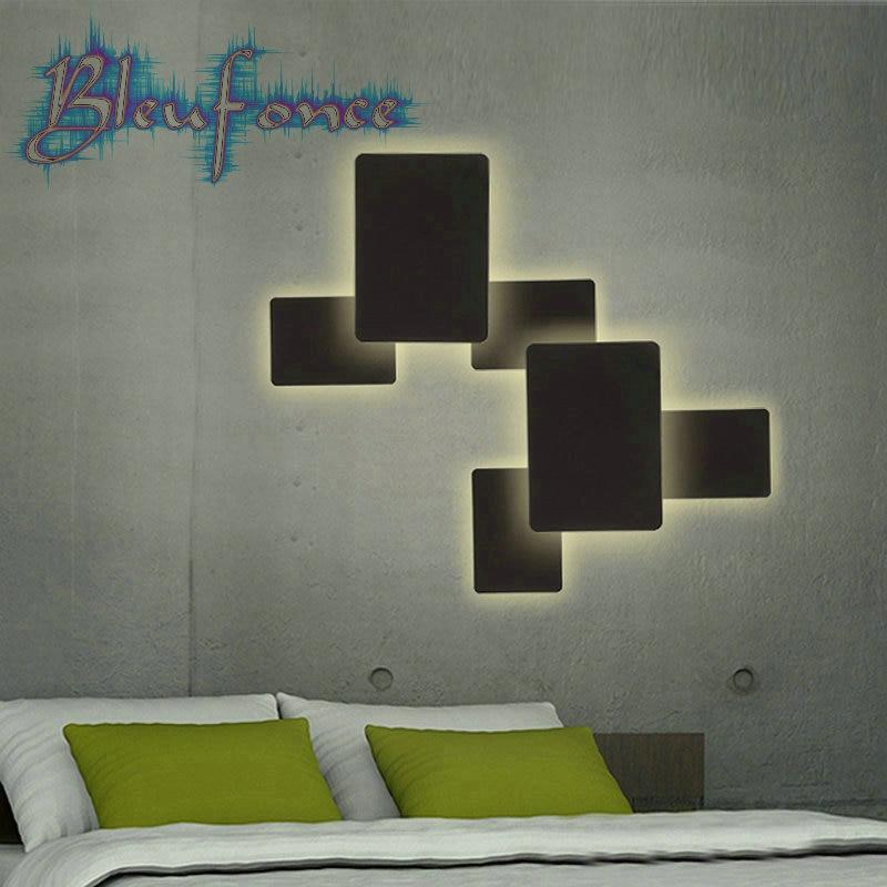 Schlafzimmer Beleuchtung Licht Rechteckigen Wandleuchte Kaufen Billigrechteckigen