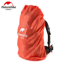 NatureHike Bag Cover Waterproof Rain Cover For Backpack Travel Camping Hiking Cycling School Backpack Luggage Bags  20L 30L 50L naturehike climbing bags cover waterproof rain cover for backpack travel camping hiking cycling mountaineering dust covers