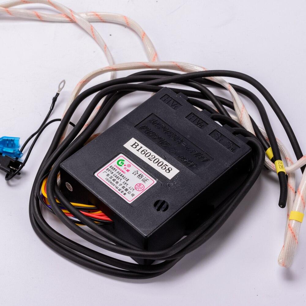 Universal elektrische vier linien gas brenner zünder 4,5 V 3V elektrische puls funken zündspule gas herd reparatur teile
