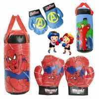 NEUE Marvel Superhero Spiderman Hulk kinder Handschuhe Echtem Spider-Man Avengers Boxen Handschuhe Dekompression Spielzeug