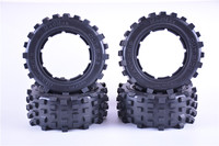 MadMax Giant Grip Tyre Off Road Tire for 1/5 Scale RC Truck Rovan LT KM X2 LOSI 5IVE T DBXL