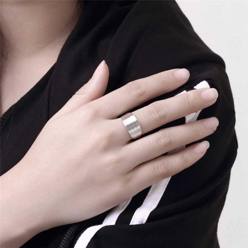 แต่งงาน 925 แหวนเงินผู้หญิงหลายเส้นนิ้วมือแหวน Bague Anillos เครื่องประดับเจ้าสาวอุปกรณ์เสริมของขวัญ