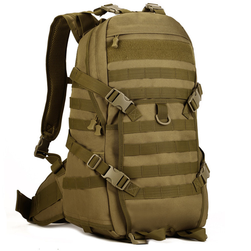 ФОТО Hot Sale!Men Military Backpack Molle Trekking Camouflage Bags 40L Campe Bag Mochila S112