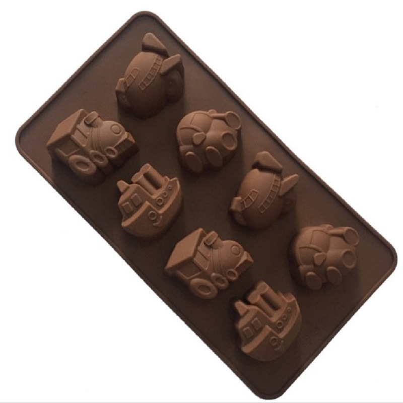 3D Car Tire Fondant Silicone Molds Candy Art Decoration Tool DIY Baking Chocolate Ice Cube Tray Mold Handmade Soap Polymer Clay Molds