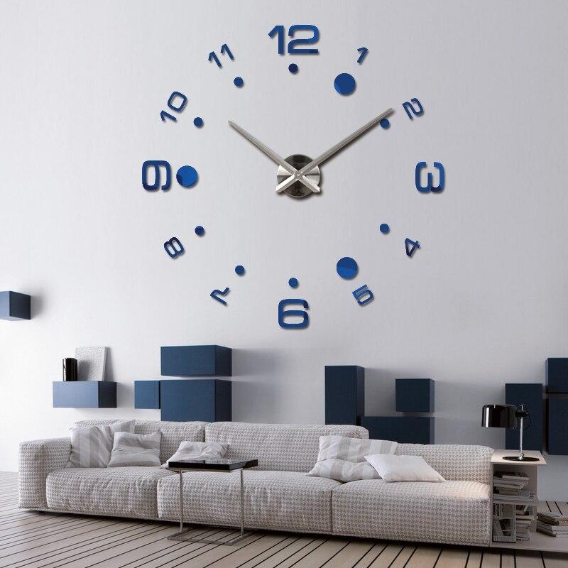 2019 νέα ρολόι τοίχου diy ρολόγια reloj de pared - Διακόσμηση σπιτιού - Φωτογραφία 4