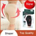 2016 nueva moda de las mujeres body shaper pierna pantalones cortos ajustados de cintura que adelgaza el underwear beige azul