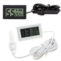 Mini Digital LCD Temperature Humidity Thermometer Hygrometer Temperature Sensor Indoor Room Humidity Meter -50C to 70C /10% to 9