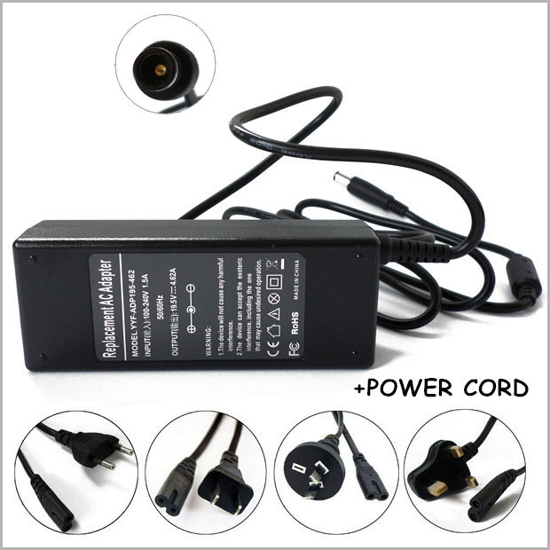 Universal Power Supply 19 5v 4 62a 90w Ac Adapter Charger Laptop Charger Plug For Carregador Dell Latitude D620 D630 1525 In Laptop Adapter From
