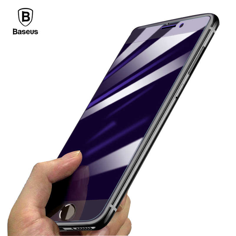Baseus 0.2&0.3MM HD For iPhone 7 Glass Screen Protector for iPhone 8 7 Plus Tempered Glass Ultra Thin Protective Glass Film