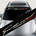 CORRIDAS de VELOCIDADE à prova d' água Auto Car Window Decal Adesivo Para BMW Audi Peugeo Frente Pára-Brisa Do Carro Styling