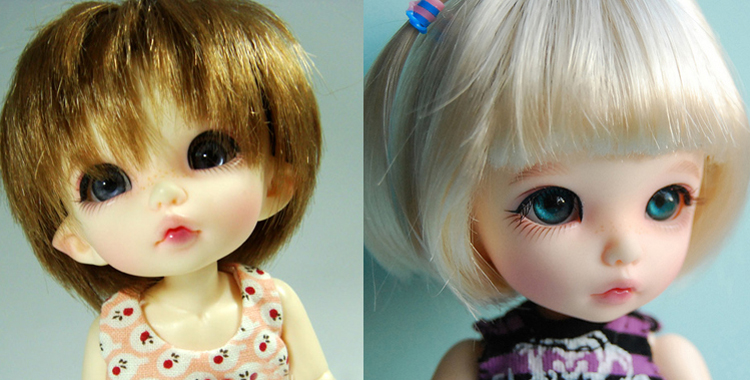 Resin BJD 1 8 Ante baby girls boys doll free eyes palm dolls HeHeBJD face make