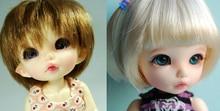 Resina bjd 1/8 ante bebê meninas meninos boneca livre olhos palm dolls hehehebjd rosto compõem
