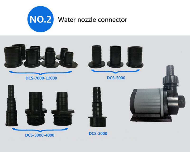 Image 3 - Jebao Jecod DCS Series Aquarium Fish Tank Remote Adjustable Sump 