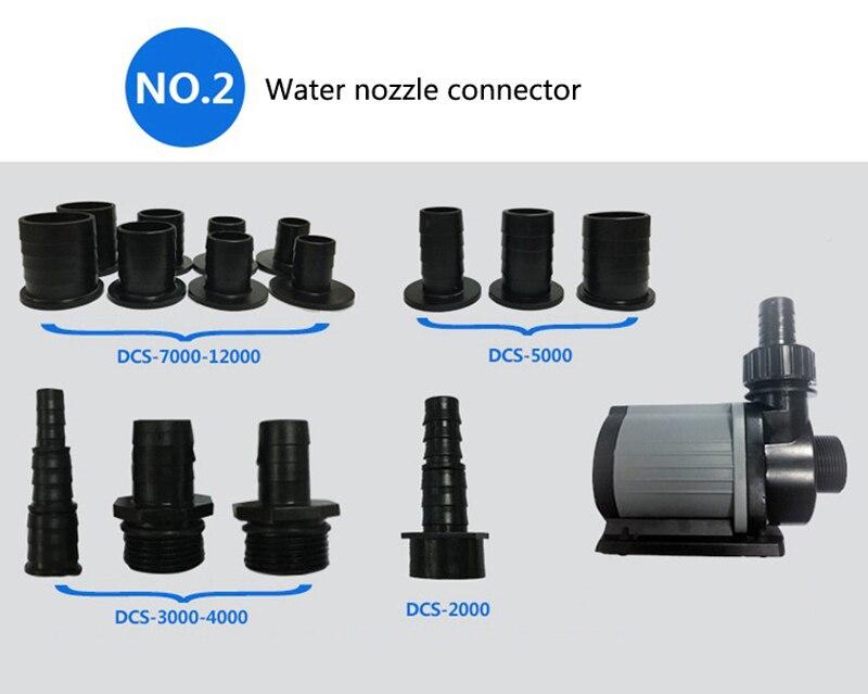 Jebao Jecod série DCS Aquarium réservoir de poissons à distance réglable puisard pompe à eau de retour DCS 2000 12000 L/H-in Pompes à eau from Maison & Animalerie    3