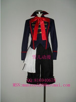2016 Drocell Caines Costume Black Butler Drocell Caines Cosplay Blue Mens Black Butler Cosplay Costume