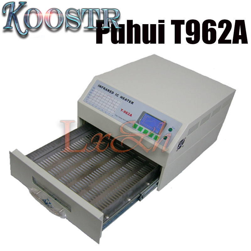 Puhui T962A DGC INFRARED reflow oven solder IC HEATER rework station Heater Infrared Reflow Wave Oven