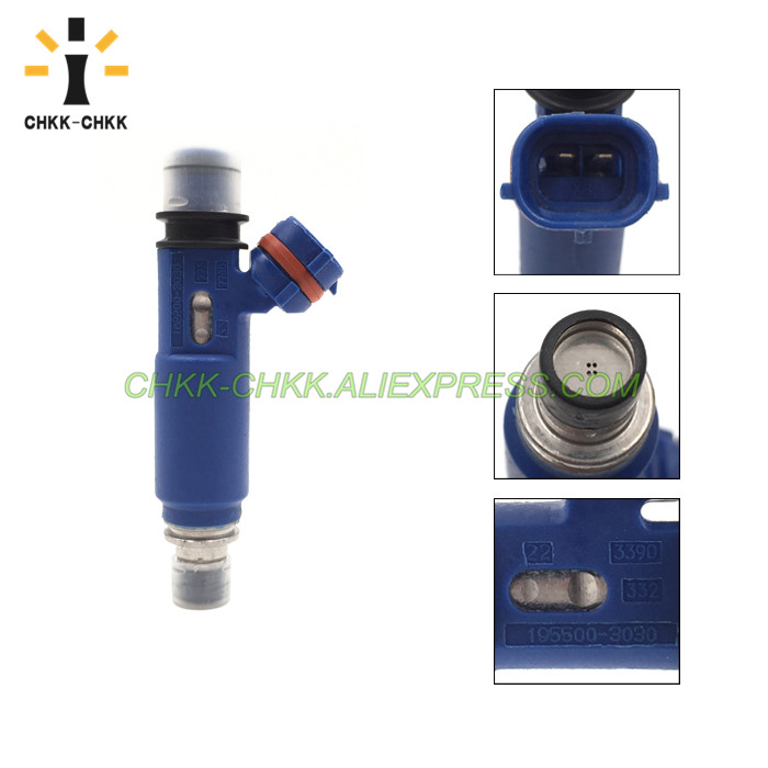 CHKK CHKK 195500 3030 fuel injector for Mazda mx 5 1 6L 1998 2005 DAIHATSU Grand move 1 6L 1998 2002 in Fuel Injector from Automobiles Motorcycles