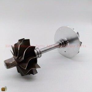 Image 1 - K03 Turbine rad 37,8x45mm, Compr rad 36,6x51mm, K03 Turbo teil/überholsätze rotor in montage lieferant AAA Turbolader Teile