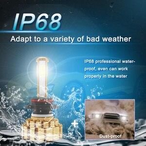Image 4 - LED H7 H4 H8 H9 H11 9005 HB3 9006 HB4 LED Koplamp Auto Licht COB Chips Heldere Automobile Koplamp 8000LM 12 V 80 W 6000 K
