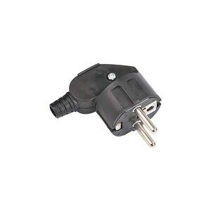 Image 4 - Rdxone 16A EU 4.8mm AC 전원 Rewireable 플러그 남성 와이어 소켓 콘센트 어댑터 연장 코드 커넥터 플러그