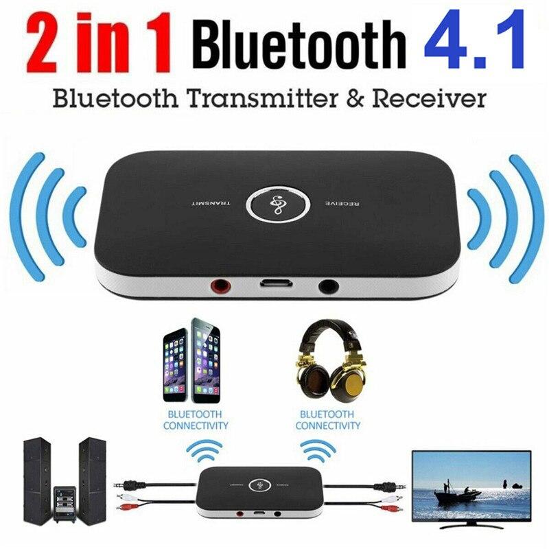HIFI Sem Fio Bluetooth 2 in1 Transmissor de Áudio Música Adaptador Receptor 3.5 MILÍMETROS RCA