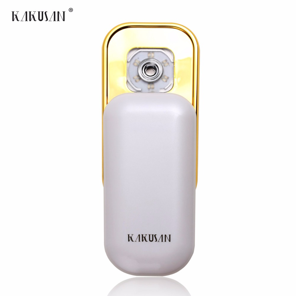Handheld portable mist water sprayer face steamer/facial steamer for face skin care tools