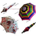 Fiberglass Parasol  Fiberglass Rainbow umbrella Highest quality magic props magic tricks wholesale