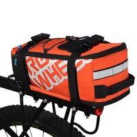 ROSWHEEL Trunk Bag Konna Jazda Na Rowerze Mtb Rower Stojak Powrót Seat Pannier Mountain Road Bicycle Tylny Carrier Przenoszenia Ręki Torby