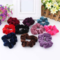 5PCS Women Velvet Hair Scrunchies Elastic Hair Bands Ties Ponytail Holder Hair Accessories Women Girls Head Bands