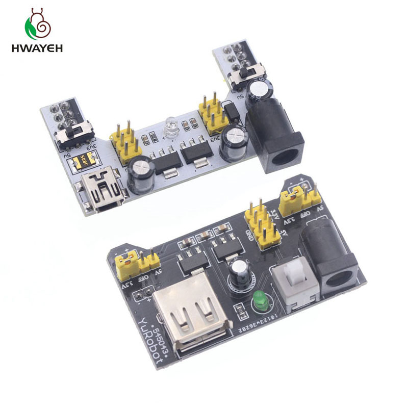 MB102 Breadboard Power Supply Module 3.3V 5V MB-102 Solderless Bread Board DIY 2012 New dedicated power module