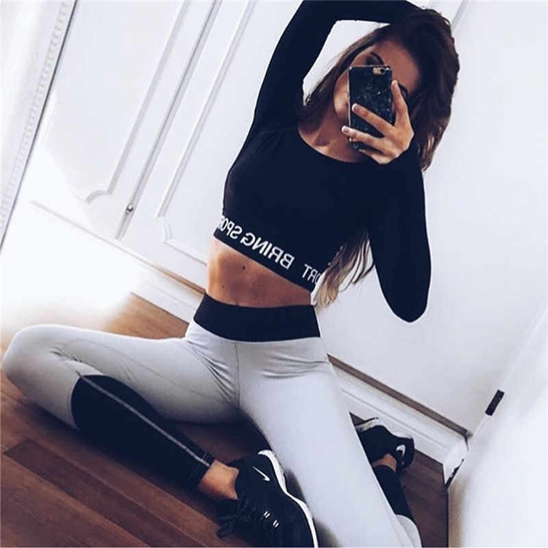625d0c51a1 HIRIGIN 2017 Women Leggings For Female High Waist Fitness Pants Legging  Workout Mesh Leggings Bodybuilding Clothes