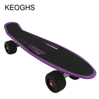 22inch Adult Teenagers Skateboard Children Fish Board PU Grinding Wheels Hollow Out Outdoor Sports Bodybuilding Single