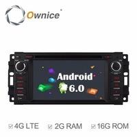 Android 6 0 Quad Core 2GB RAM Car DVD GPS Radio Player For JJeep Commander 2008
