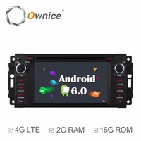 Android 6 0 Quad Core 2GB RAM Car DVD GPS Radio Player For JJeep Commander 2008