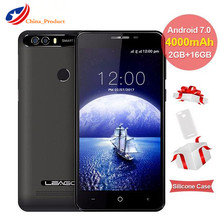 LEAGOO KIICAA POWER 4000mAh 5.0 inch MT6580A Quad Core 2GB RAM 16GB Android 7.0 Mobile Phone  Fingerprint Smartphone