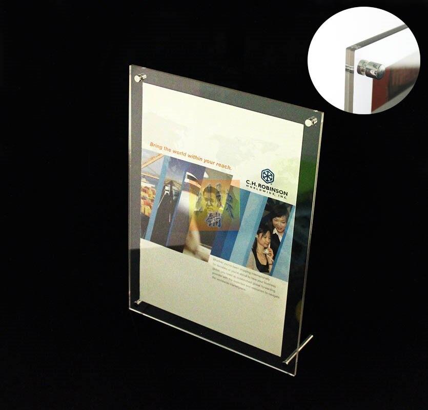 Rechteckigen acryl bilderrahmen acryl werbung rahmen produkt a4 ...