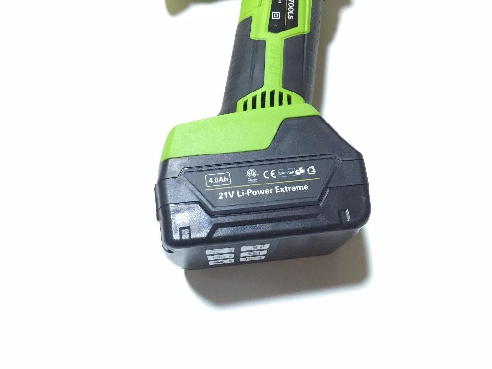 21V Li-Power Extreme Battery For Brushless Cordless Dual Action Random Orbital Car Polisher 18v 400w 2800rpm