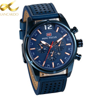 Lancardo Relogio Masculino Original Watch Men Top Brand Luxury Men Watch Fashion Leather Men Watches Horloges