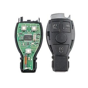 Image 5 - Dzanken3 Buttons Remote Car Key 433Mhz for Mercedes Benz Year 2000+& Transponder Chip& Uncut Blade