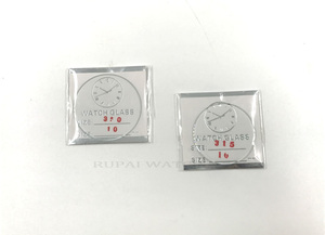 Image 5 - Montre minérale plat 138cs 1.0MM dépaisseur en verre minéral, choisissez des tailles de 16mm à 50mm pour les montres et la réparation, vente en gros