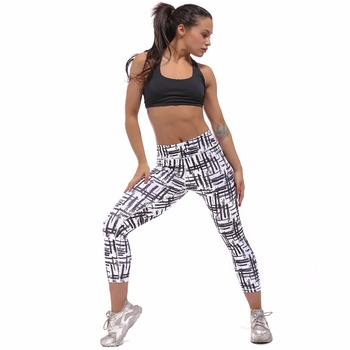 Chastep Quick Dry Polyester and Spandex Materials Suitable for Summer Yoga Sport Running Gymnastics Activities Trousers Pants 1