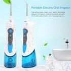 Portable Oral Irrigator USB Rechargeable Water Flosser Teeth Whitening Dental Water Jet Water Tank Waterproof Teeth Cleaner P42